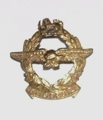 Rhodesian Air Force Cap Badge