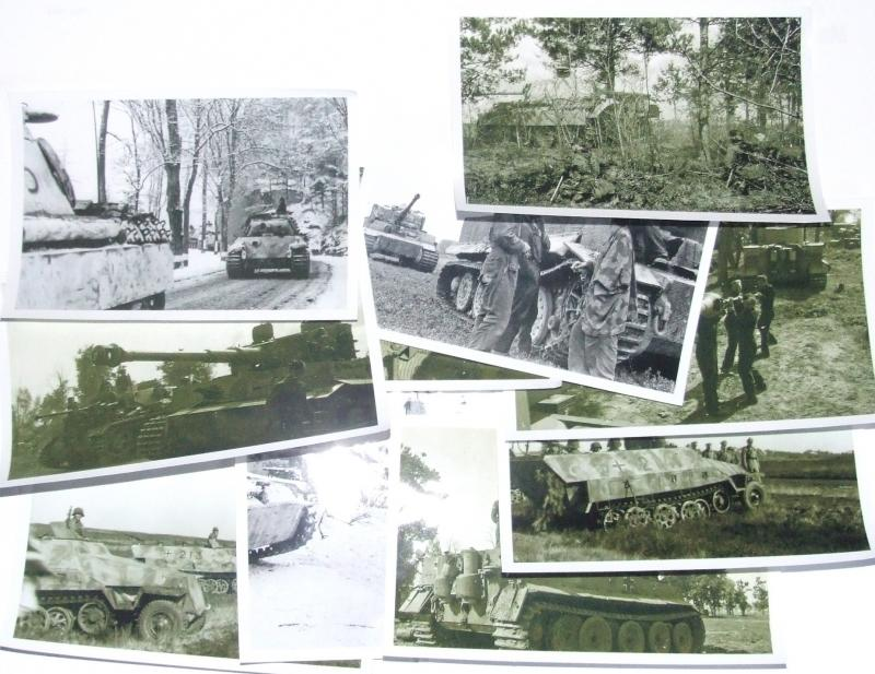 10 x Original Photographs - Panzer Crews