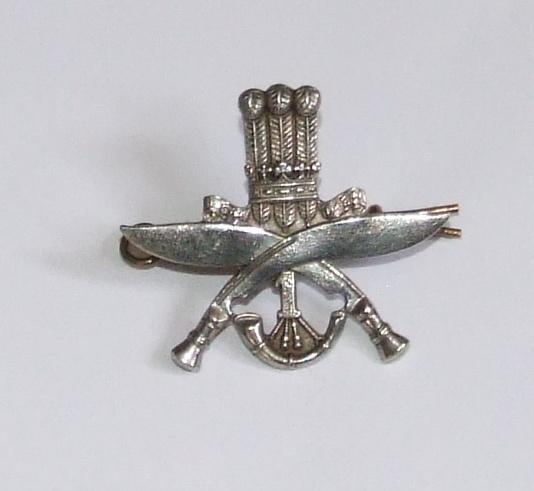 1st Gurkha Rifles Cap Badge