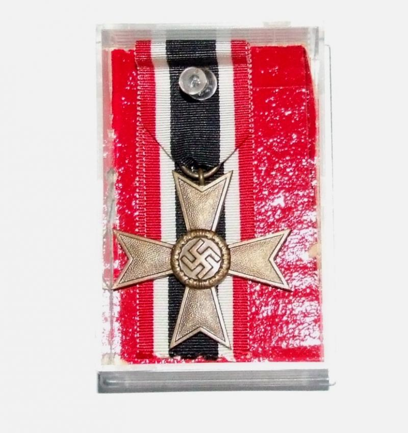War Merit Cross - Mounted